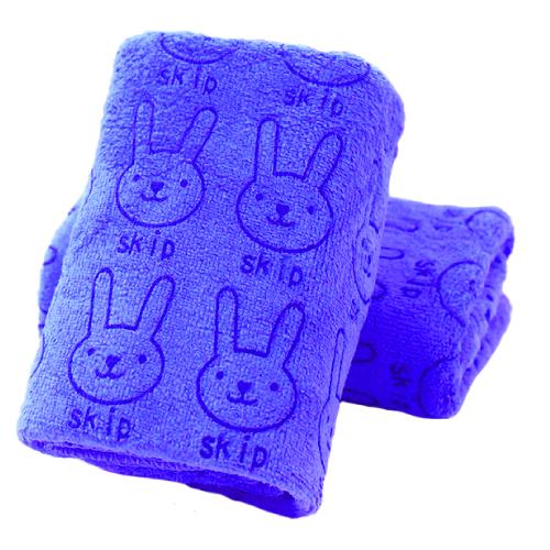 Soft Cartoon Children's Towel - Blue