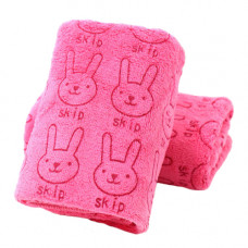 Soft Cartoon Children's Towel - Pink