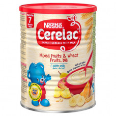 Nestle Cerelac Mixed Fruit & Wheat with Milk 7 months + 1Kg