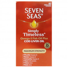 Seven Seas Maximum Strength 60 Capsules