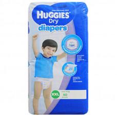 Huggies XXL Belt Diaper 14+ Kg - 40 Pcs  (Malaysia)