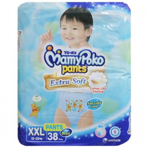 Mamy Poko Pant XXl Diaper 15-25 Kg Boy- 38 Pcs (Indonesia)