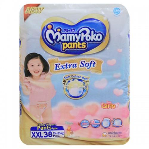 Mamy Poko Pant XXl Diaper 15-25 Kg Girl- 38 Pcs (Indonesia)