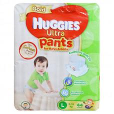 Huggies Ultra Gold Large Pant Diaper 9-14Kg - 44 Pcs (Malaysia)