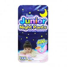 Mamy Poko Junior Night Pants XXXL 18-35 Kg Girl- 24 Pcs (Indonesia)
