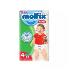 Molfix Maxi Pants 9-14 Kg 52 Pcs (Made in Turkey)