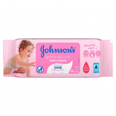 Johnson's Gentle All Over Baby Wipes 56 Pcs