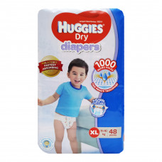 Huggies XL Belt Diaper 11-16Kg - 48 Pcs (Malaysia)