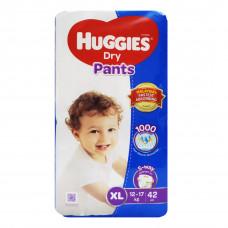 Huggies Dry XL Pant Diaper 12-17Kg - 42 Pcs (Malaysia)
