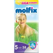 Molfix Giant Junior Belt 11-18 Kg 58 Pcs (Made in Turkey)