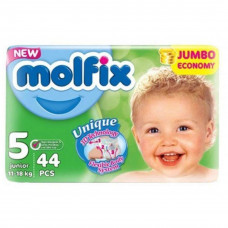 Molfix Jumbo Junior Belt 11-18 Kg 44 Pcs (Made in Turkey)