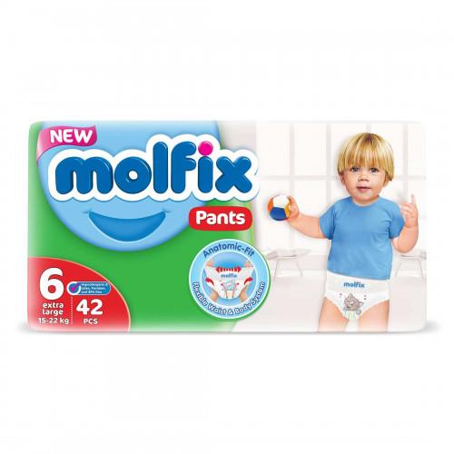 Molfix Jumbo Pants XXL 15 - 22 Kg 42 Pcs (Made in Turkey)