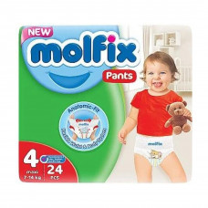 Molfix Twin Pants Maxi 7-14 Kg 24 Pcs (Made in Turkey)