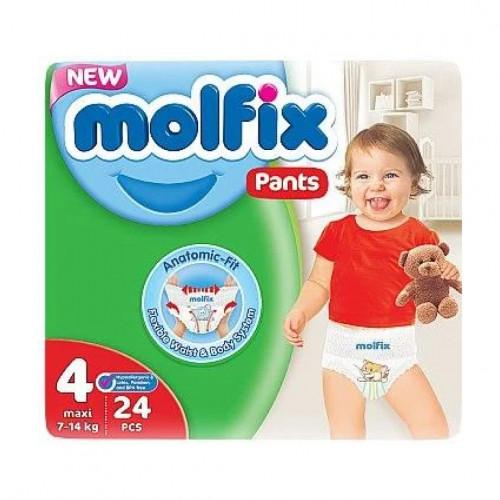 Molfix Twin Pants Maxi 7-14 Kg 24 Pcs (Made in Turkey)