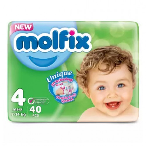 Molfix Maxi Belt 7-14 Kg 40 Pcs (Made in Turkey)