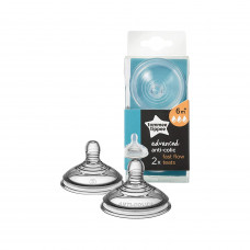 Tommee Tippee Advance Anti-colic Nipple 6 Month+ (Fast Flow)