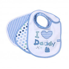 Mothercare Newborn Bibs: I Love Daddy