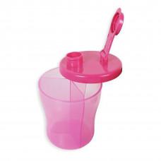 First Steps Milk Powder Dispenser: Pink