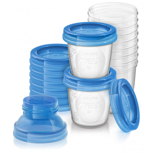 Philips Avent Breast Milk Storage Cups 10 Pieces