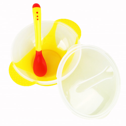 Food Pot With Spoon