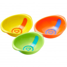 Munchkin White Hot Toddler Bowls 3 Pieces
