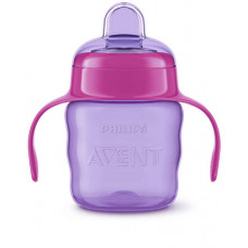 Philips Avent Easy Sip Spout Cup Purple 200 mL.