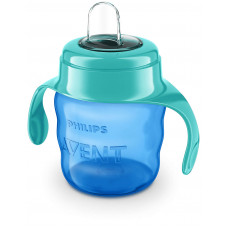 Philips Avent Easy Sip Spout Cup Blue 200 mL.