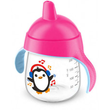 Philips Avent Premium Spout Cup Pink 200 mL