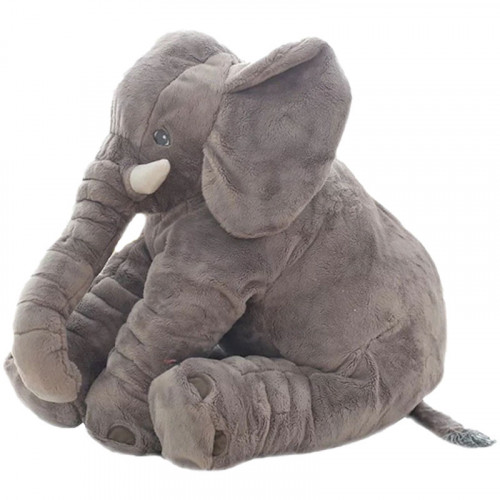 Elephant Pillow Silver