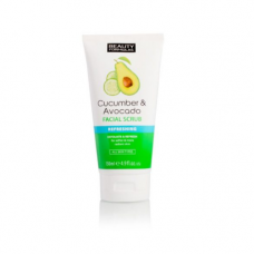 Beauty Formulas Cucumber & Avocado Facial Scrub 150 mL