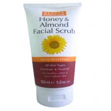 Beauty Formulas Honey & Almond Facial Scrub Nourishing 150 mL