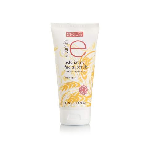 Beauty Formulas Vitamin E Exfoliating Facial Scrub 150 mL