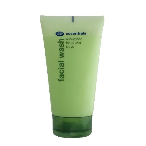 Boots Essentials Cucumber Facial Wash 150 mL