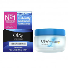 Olay Anti-Wrinkle Instant Hydration Anti-Ageing Day Moisturiser 50 ml