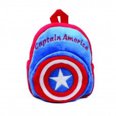 Cute Cartoon Kid Splash Mini Backpack: Captain America