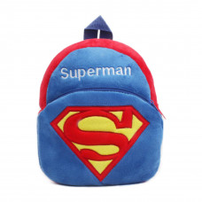 Cute Cartoon Kid Splash Mini Backpack: Superman