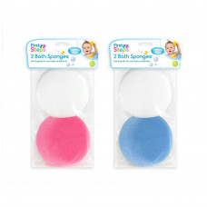 First Steps Bath Sponge 2 Pcs