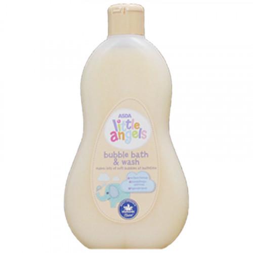 Asda Little Angel's Bubble Bath & Wash 500 mL