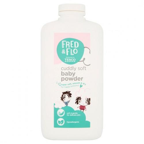 Fred and Flo Cuddly Soft Baby Powder 400g