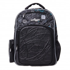 Smiggle Ultra Explorer Comfort Backpack Black