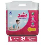 SMC Smile Large Belt Diaper 8-14 kg 24pcs