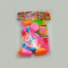 Birthday cake cutter toy set