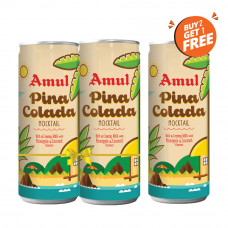 Amul Pinacolada Mocktail 200ml Can  (Buy 2, Get 1 Free)