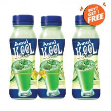 Amul Kool Cardamom 200ml Pet Bottle (Buy 2, Get 1 Free)