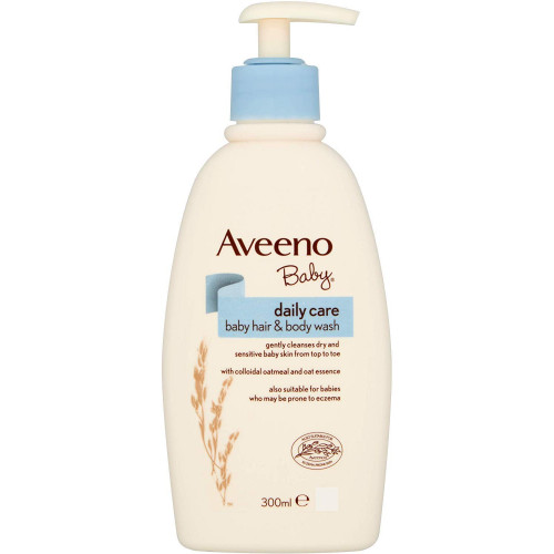 Aveeno Baby Daily Care Hair & Body Wash 300 ml