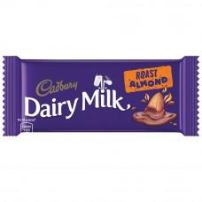 Cadbury Dairy Milk Roast Almond Chocolate Bar 36gm