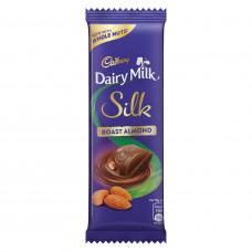 Cadbury Dairy Milk Silk Roast Almond Chocolate Bar 58gm