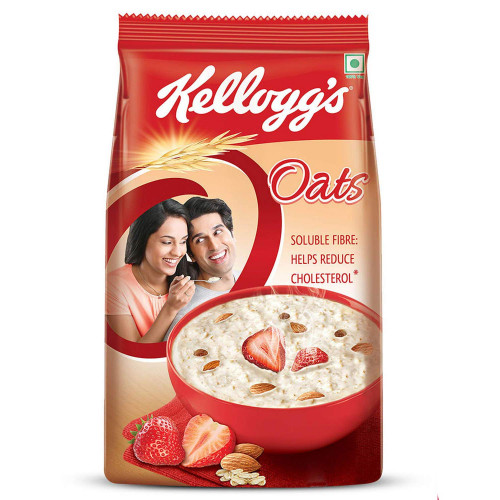 Kellogg's Oats Breakfast Cereal 1kg with FREE Container