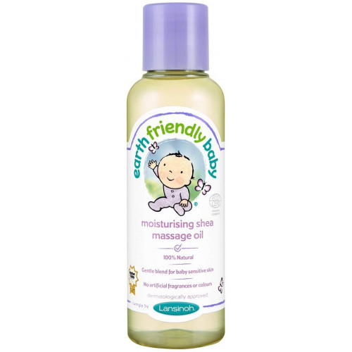Lansinoh Earth Friendly Baby Moisturising Shea Butter Massage Oil