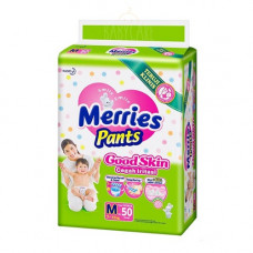 Merries Baby Diaper Pants 7-12 Kg 50 Pcs (Made in Indonesia)
